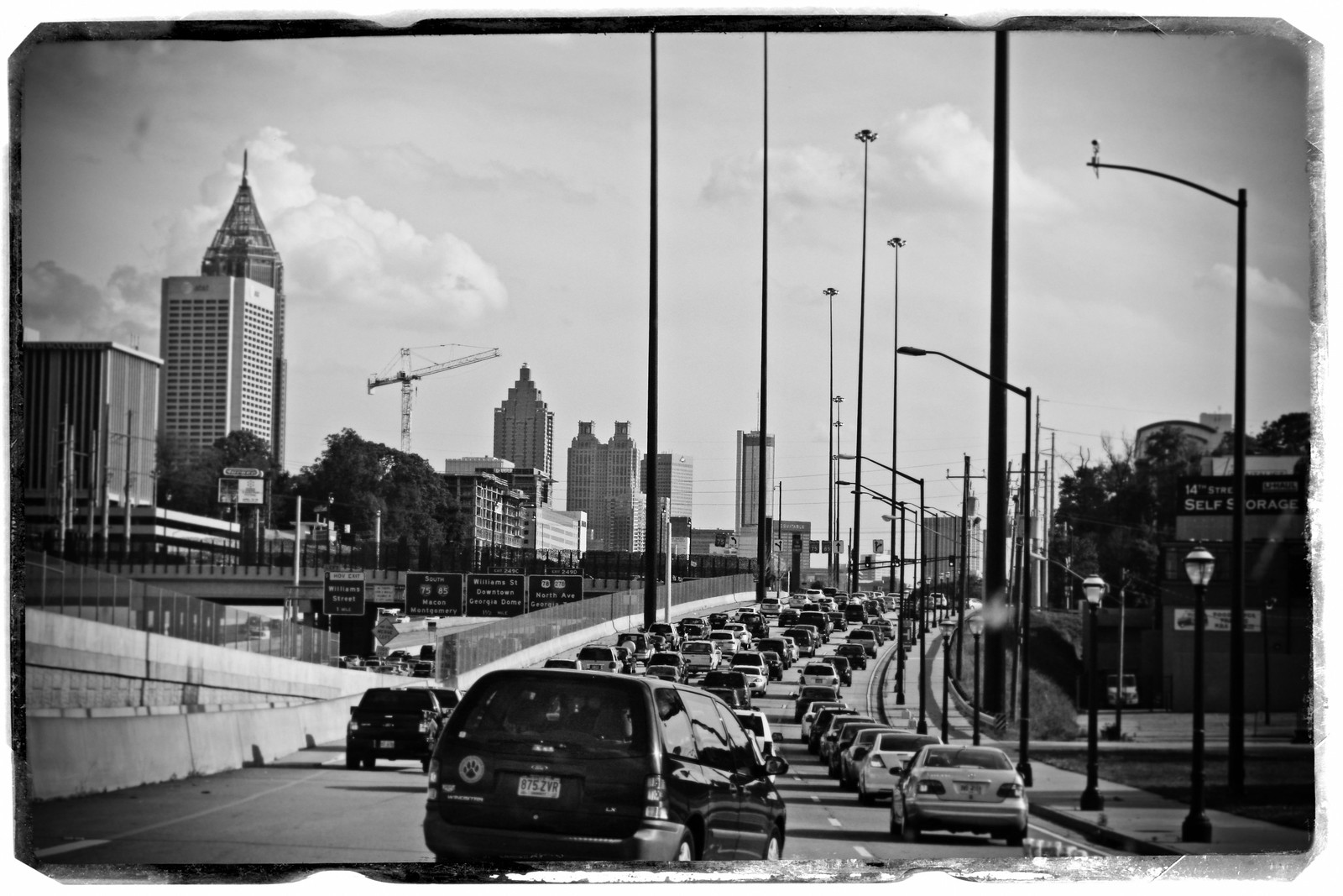 April 4th Traffic, Midtown, Atlanta