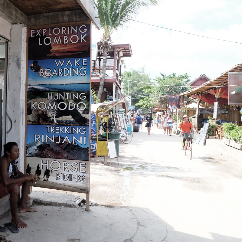 things to do on gili island