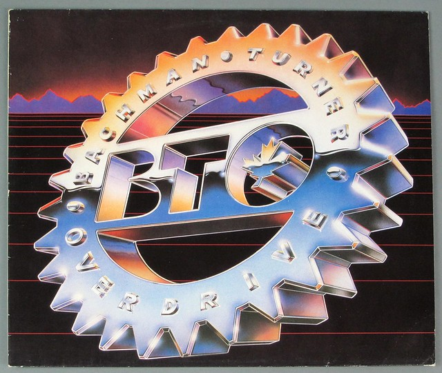"BACHMAN TURNER OVERDRIVE BTO 1984 ALBUM SUN RECORDS 12"" LP VINYL"