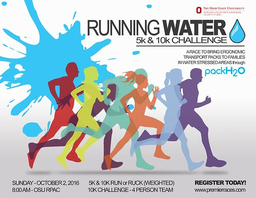 running water race ad