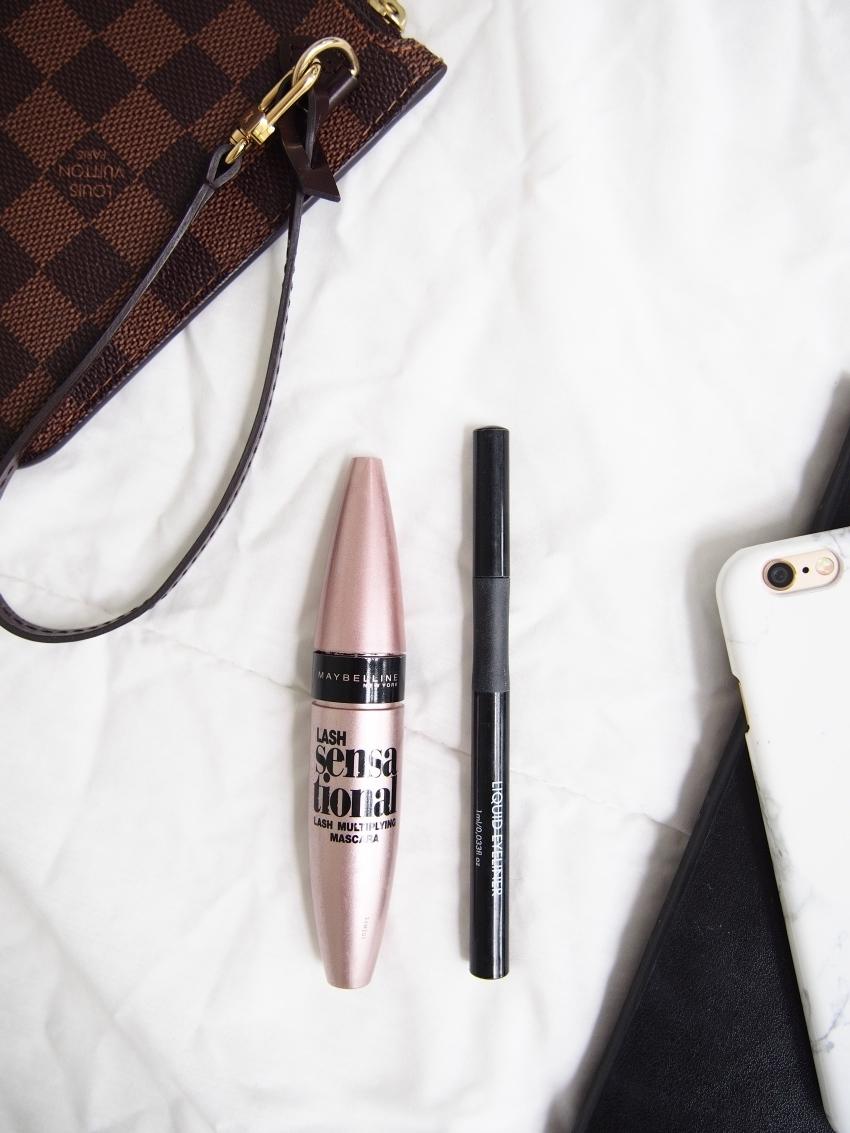 Maybelline Lash Sensational, Make Up Store liquid eyeliner