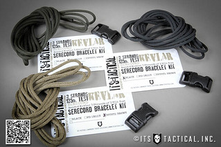 SERECord Bracelet Kit 01 | by ITS Tactical
