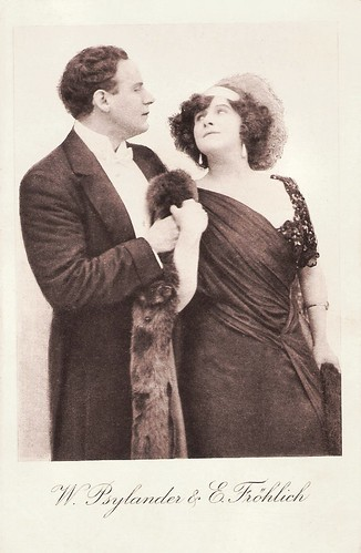 Else Fröhlich and Waldemar Psylander