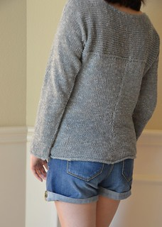 Exposed Seam Pullover | by soknitpicky