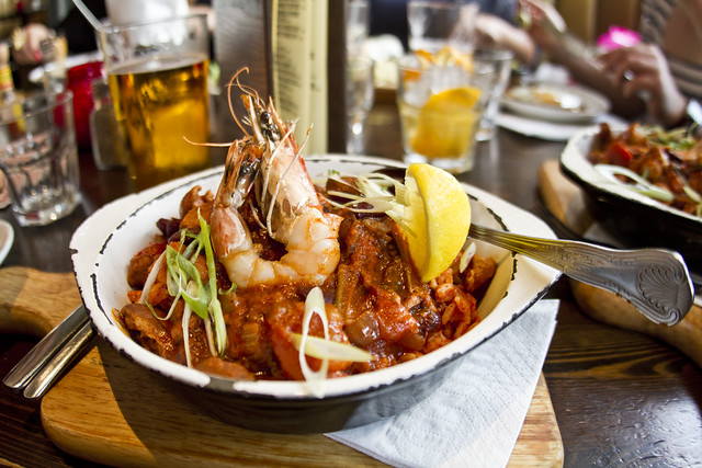 New Orleans Gumbo @The Blues Kitchen London