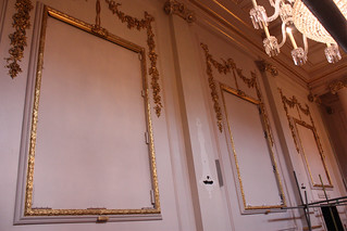 Where the paintings used to hang in the Crush Room.  ©ROH Collection 2012 | by Royal Opera House Covent Garden