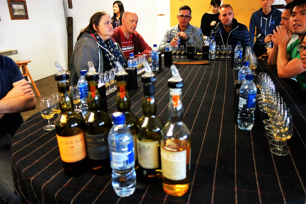 Whisky Tastings at Caol Ila Distillery, Islay