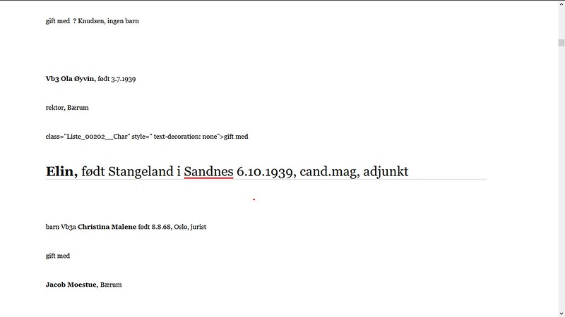 sandnes elin ribsskog f. stangeland