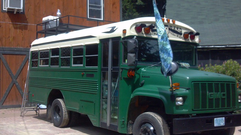 Roof Rack School Bus Conversion Resources