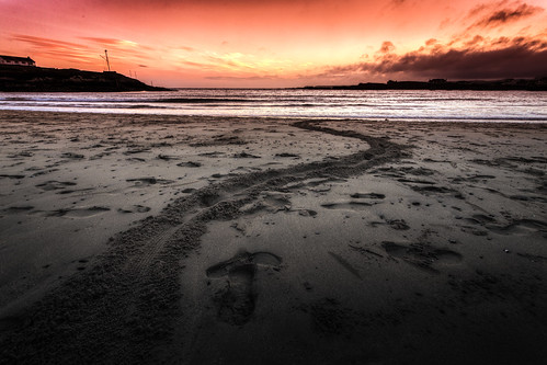 Trearddur Bay Sunset | by Mark Carline