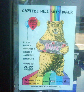 Capitol Hill Arts Walk Poster 2012 | by JoeInSouthernCA