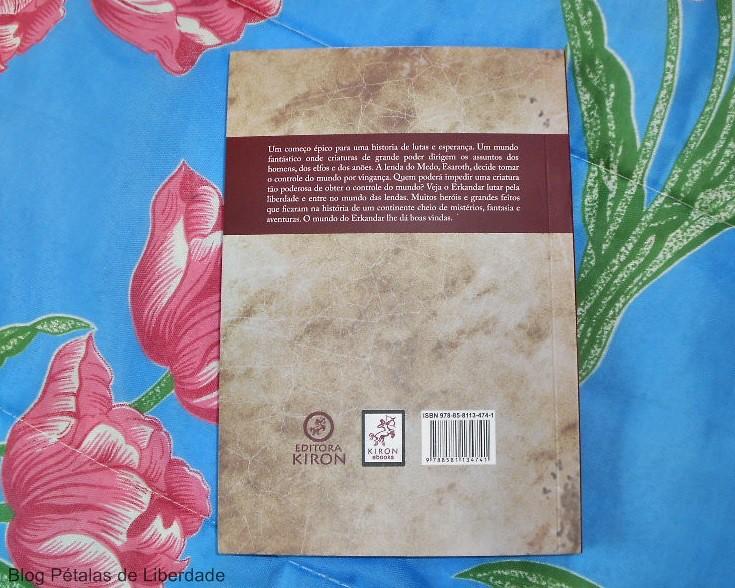 Resenha, capa, livro, Os-dias-esquecidos, TCF-Ramos, Editora-Kiron, o-conto-das-lendas, fantasia, elfos, tolkien, sinopse, opiniao