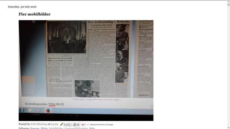 svelviksposten 1954