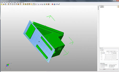 NetFabb Basic Z Cut #2