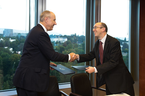 UK and WIPO Sign Joint Statement | by WIPO | OMPI
