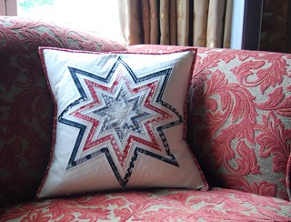 Superstar FPP pillow | by Lynne @ Lilys Quilts