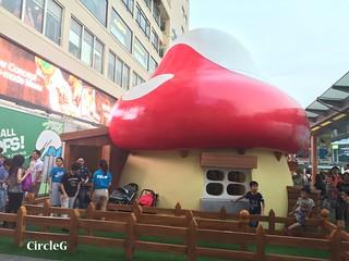 CIRCLEG 遊記 香港  尖沙咀 海港城 藍精靈 HABOUR CITY (31)