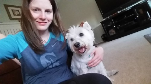 Daisy and I Westie Smile 2