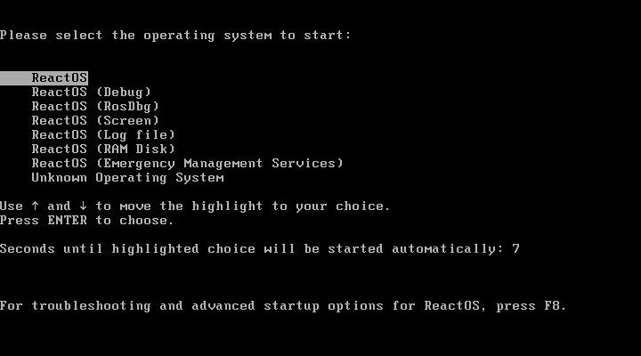 ReactOS 0.4.2 - képekben