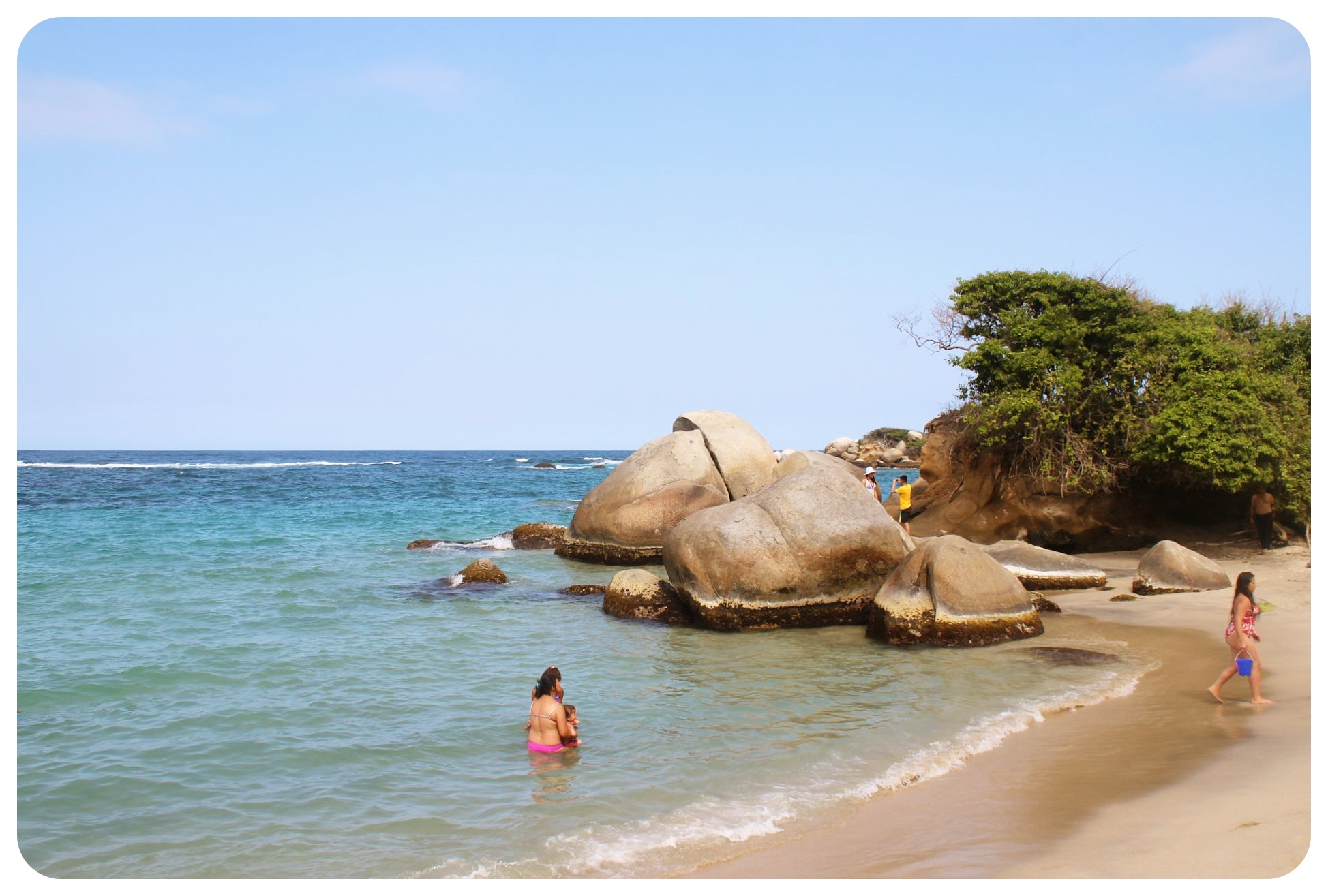 tayrona national park beach colombia