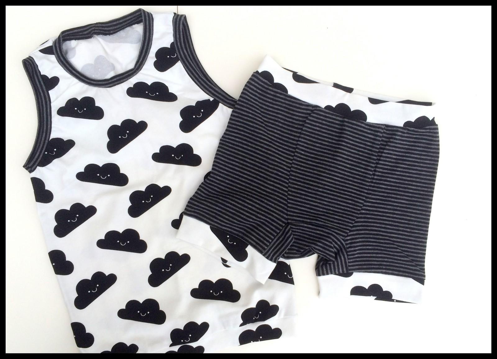 sleepwear b&w