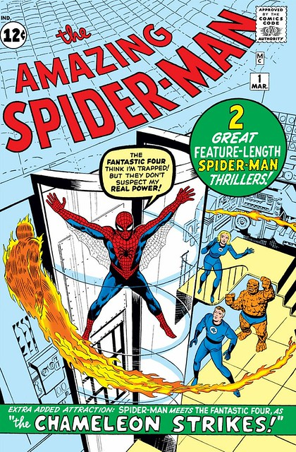 cover Amazing Spider-Man 1 (1963)
