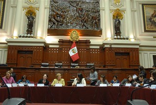 UN Women Executive Director Michelle Bachelet visits Peru's Congress to meet with women leaders from various political parties | by UN Women Gallery