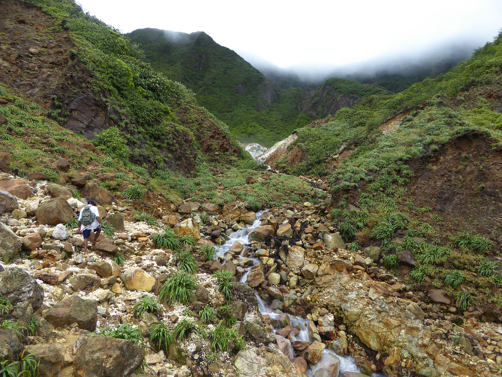 Georgina Ingham | Culinary Travels - Boiling Lake Hike in Dominica