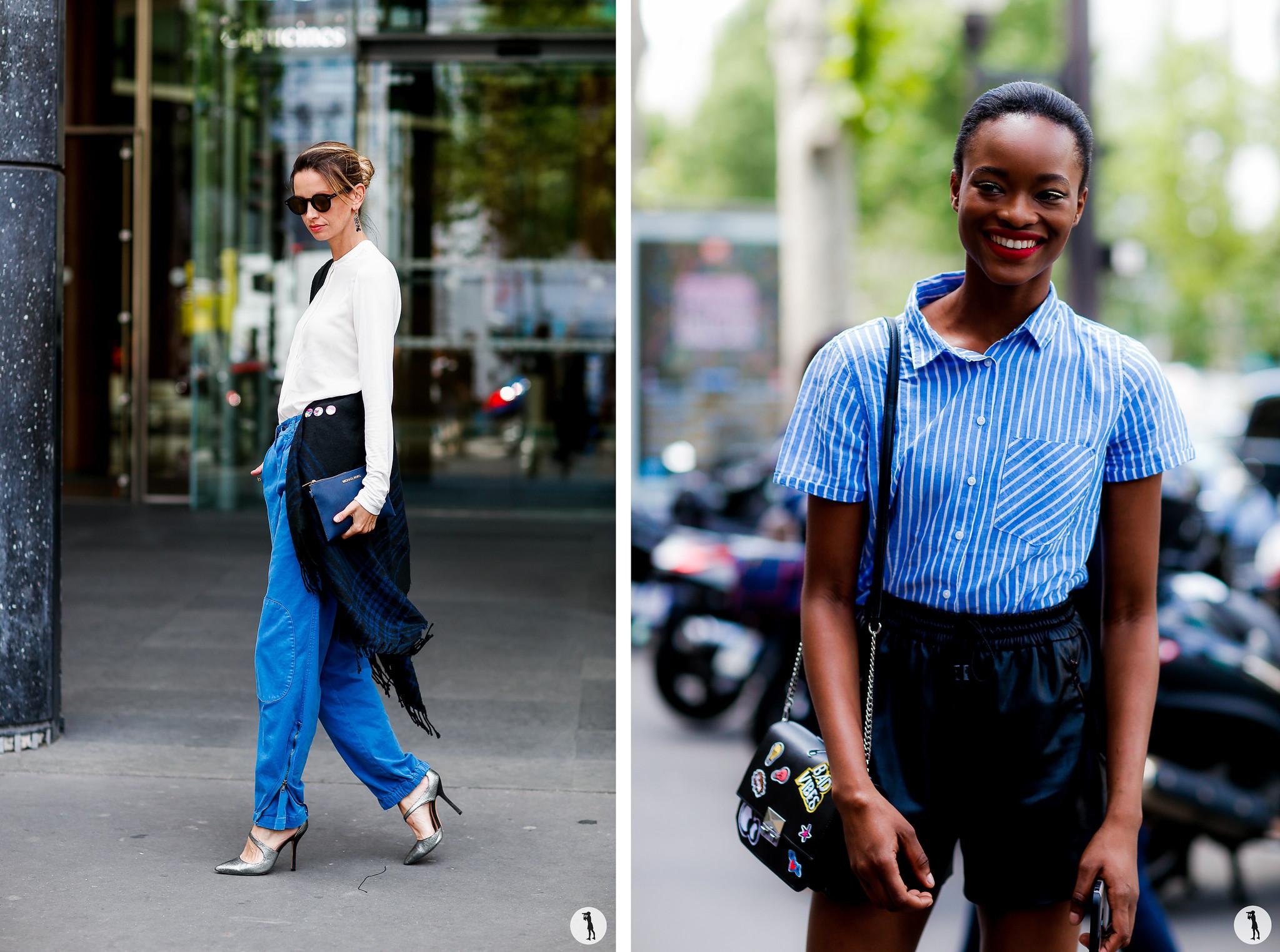 Street style - Paris Fashion Week Haute Couture FW16-17