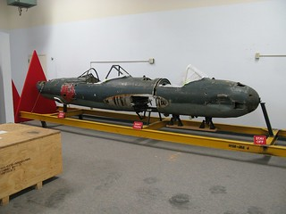 "Okha ""Cherry Blossom"" flying bomb trainer in Oct 2012"