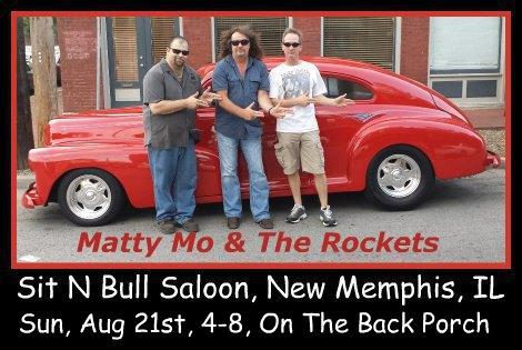 Matty Mo & The Rockets 8-21-16