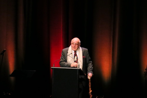 Sir Tipene O'Regan at WORD Christchurch The stars are on fire gala