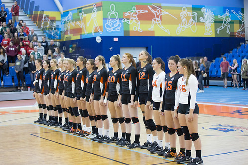 WolfPack Women's Volleyball Lose Home Debut To UBCO