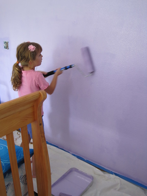 Painting Room - pink and purple 004