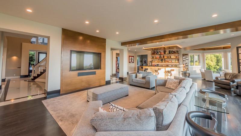 Дизайн интерьера дома в Малибу