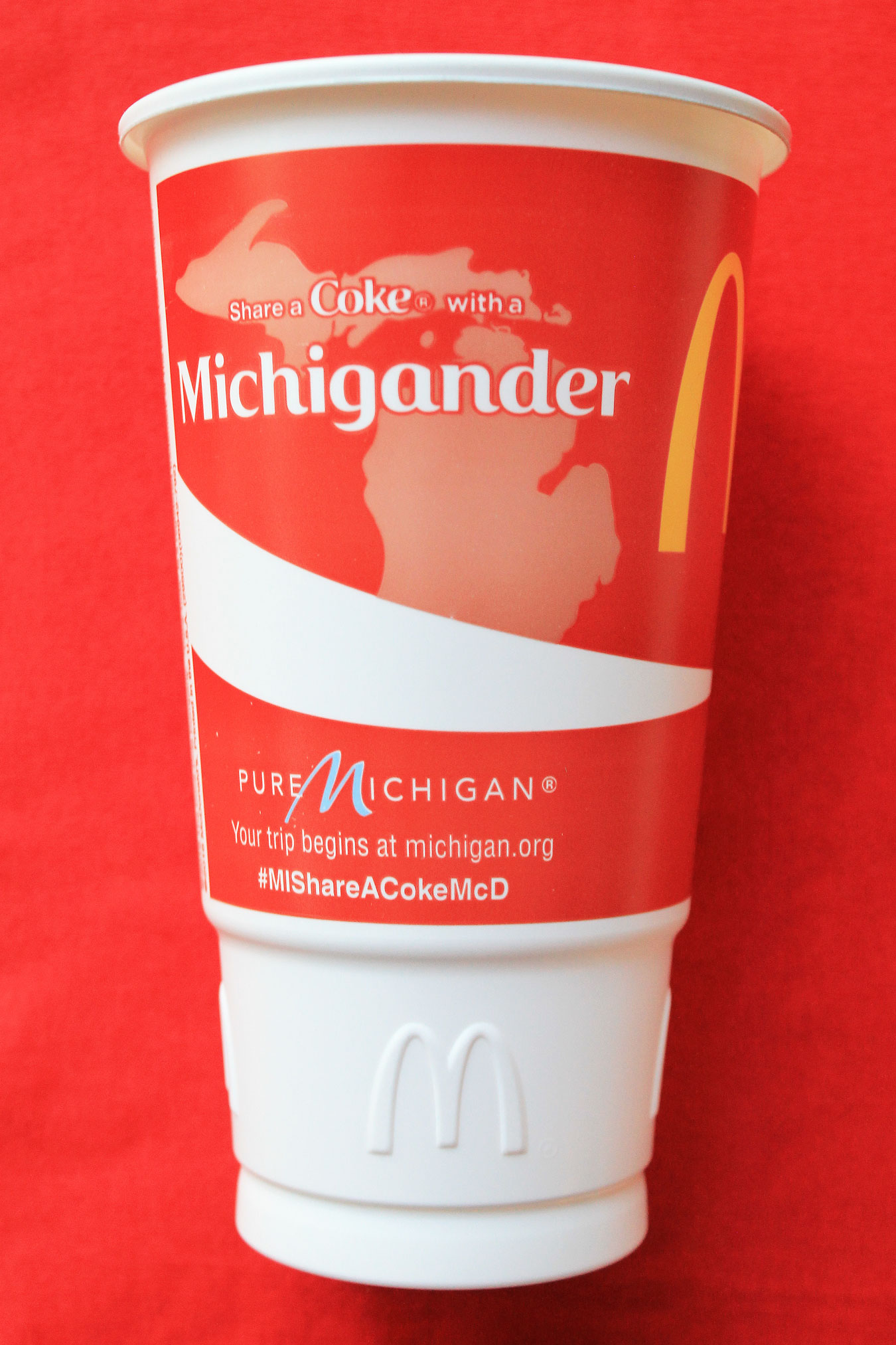 End of Summer Road Trip: Share A Coke Michigan Style At McDonald's (MIShareACokeMcD) - via Wading in Big Shoes