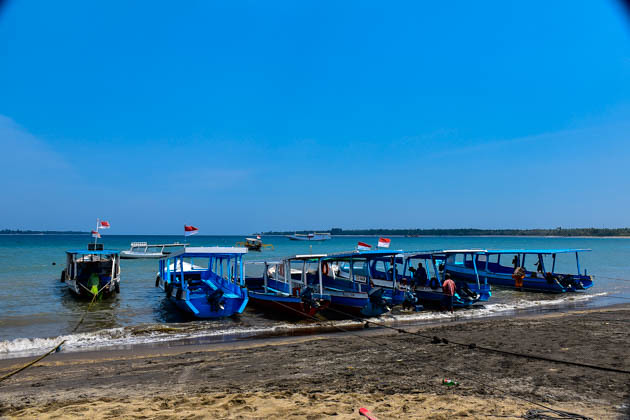 Slowboat to Gili Islands