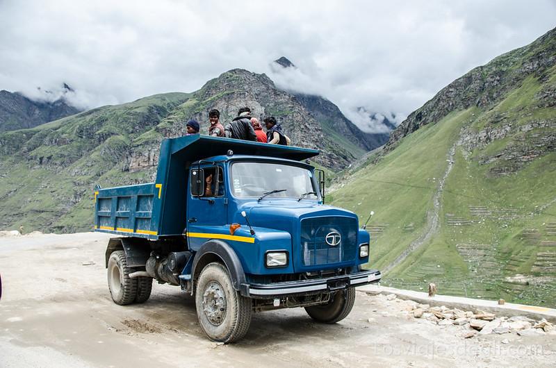 carreteras del Himalaya indio