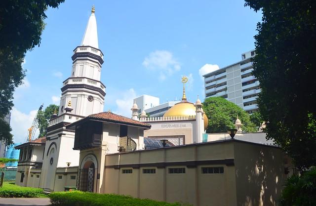 singapore heritage district kampong glam Masjid Hajjah Fatimah