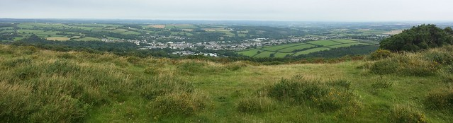 Okehampton from East Hill