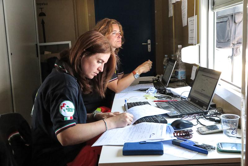 Terremoto centro Italia, l'intervento Anpas