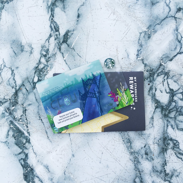 Patty Villegas-The Lifestyle Wanderer - Starbucks - Philippines - Card - Cebu Card