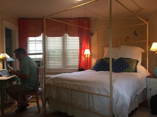 Our Room at Butler House in Des Monies, Iowa