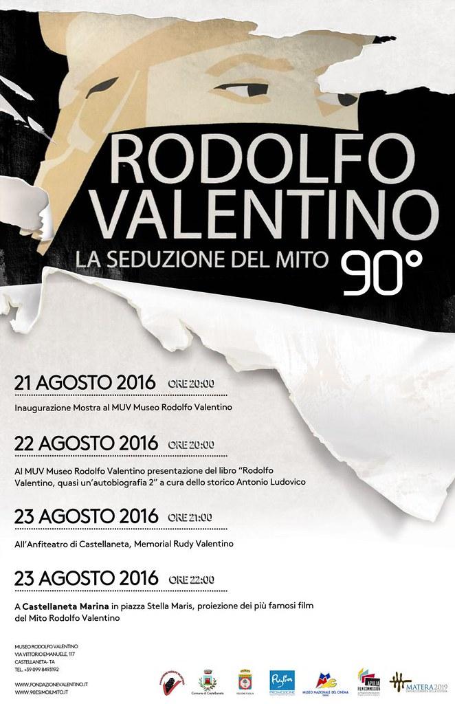 rodolfo valentino a 90 anni dalla morte