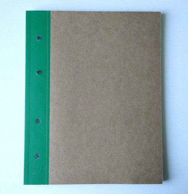 Kraft notebook Organize it