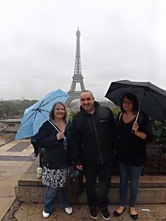 Wet day in Paris