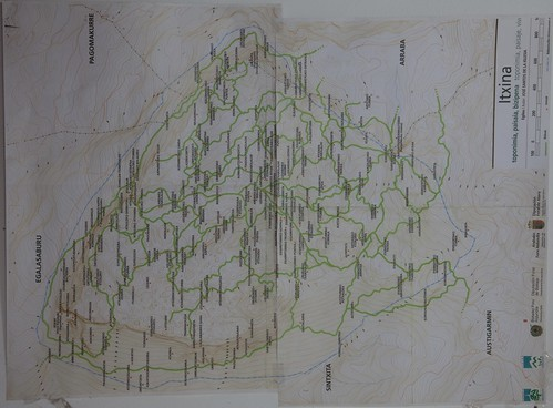 Mapa de Itxina #DePaseoConLarri #Flickr - -0651