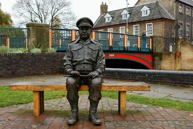 Captain Mainwaring at Thetford