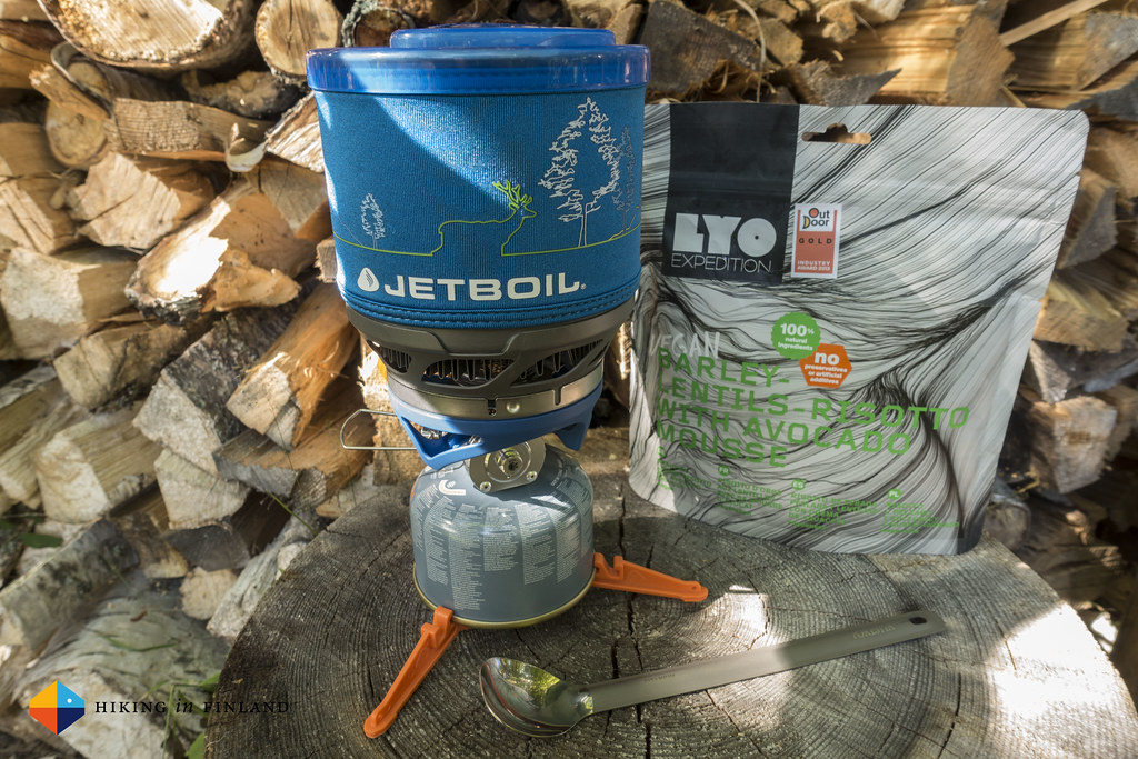 Jetboil MiniMo and LYO Food