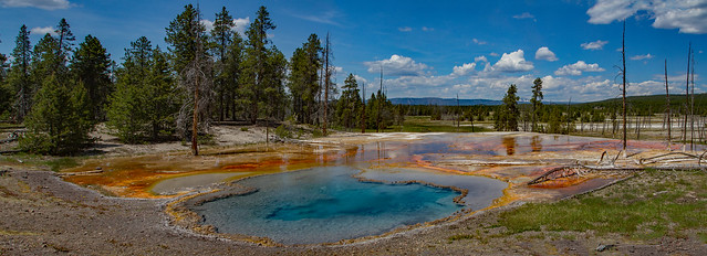 Firehole Lake Drive: Yellowstone National Park
